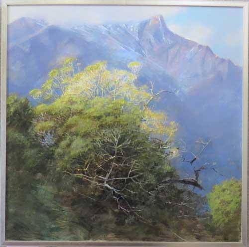 Awarded Distinction was Svetlanda Orinko for her oil painting - Old Beechwood